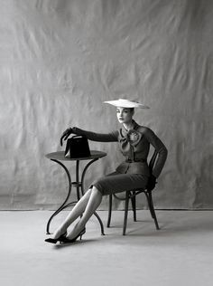 Natalia Vodianova as Jean Patchett, by Steven Meisel in The Great Pretender, for Vogue US May 2009