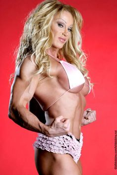 Female Bodybuilder and Pro Wrestler Melissa Coates