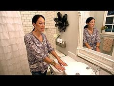 Fixer Upper: Visually Enlarge a Small Bathroom