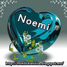"Nombres "" Eloisa "": Corazón Azul con Nombres"