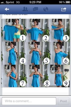 How to make a dress from a t shirt