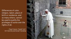'Fratelli Tutti': Truth in Dialogue | Franciscan Media Moment Of Silence, Human Development, Pope Francis, Worlds Of Fun, Catholic, Spirit, Roman Catholic