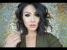 How I Style Short Hair | Messy Textured Waves - YouTube