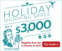 Holiday Shopping Spree Sweepstakes: WIN a $3,000 Visa Gift Card! | Woof Woof Mama
