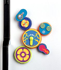 Gearation Refrigerator Magnets by International Playthings - $17.95