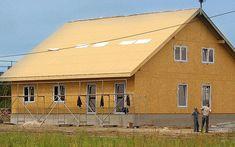 Placi OSB 3 - 3 Home Fashion, Cabin, House Styles, Home Decor, Decoration Home, Room Decor, Cabins, Cottage, Home Interior Design