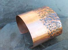 Copper Rock Cuff
