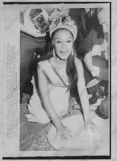 1969 Miss Universe Gloria Diaz