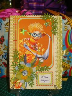 Детская открытка ручной работы по индивидуальному заказу  http://vk.com/id31634504