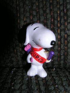 Peanuts Snoopy Cupid Valentine PVC Figure @ niftywarehouse.com #NiftyWarehouse #Peanuts #CharlieBrown #Comics #Gifts #Products