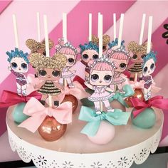 Passion Party Decoration Ideas Best Of Birthday Party Dolls Lol Surprise Doll Party Doll Doll Birthday Cake, Funny Birthday Cakes, 6th Birthday Parties, Surprise Birthday, 7th Birthday, Birthday Ideas, Birthday Cake Decorating, Birthday Decorations, Cake Decorations