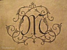Beautiful monogram