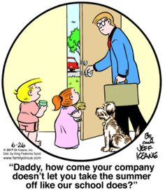 Family Circus for 6/26/2017