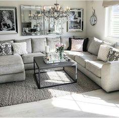 Grey Living Rooms, Living Room Ideas, Beach Living Room, Living Room Decor, Living  Area, Family Room Design, Family Rooms, Media Rooms, Room Decorations