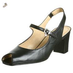 Trotters Women's Dinah Sandal,Black,9.5 W - Trotters pumps for women (*Amazon Partner-Link)