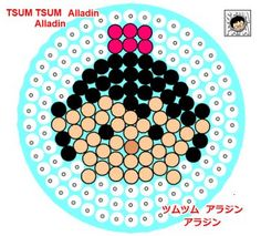 Aladdin Perler Bead Pattern
