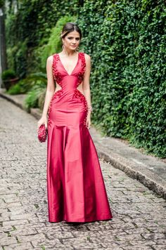 Meu look – Lady in Red!
