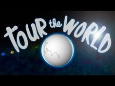 AWESOME music video touring the entire world... a must watch for Challenge A students who are drawing the world!