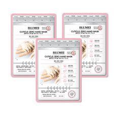Bluemei Cuticle Zero Hand Mask Moisture Intensive Care Cosmetic Korea 3pcs #BLUEMEI