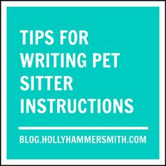 Tips for writing pet sitter instructions for pets staying overnight at a kennel or daycare, for a pet sitter who comes over, also dog sitter instructions. Dog Buscuits, Cute Dog Tags, Pet Sitting Business, Pets Online, Food Online, Cat Sitter, Dog Care, Animals For Kids, Writing Tips