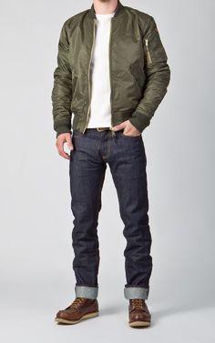 10 Amazing Bomber Jacket Styles Inspiration for Men #Style