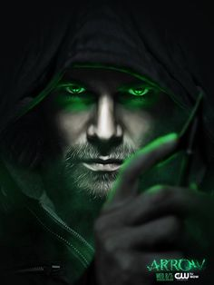 Canadian actor Stephen Amell as Oliver Queen/Green Arrow