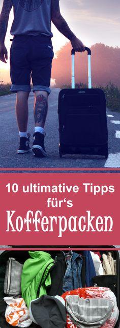 Mit unseren 10 ultimativen Tipps wird das Kofferpacken zum Kinderspiel!
