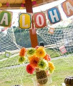 Farewell Luau! - Moving to Hawaii, Hawaiian Party Ideas