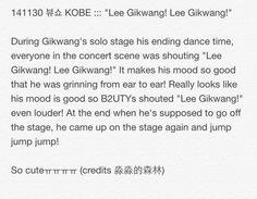 """141130 뷰쇼 KOBE ::: """"Lee Gikwang! Lee Gikwang!"""""""