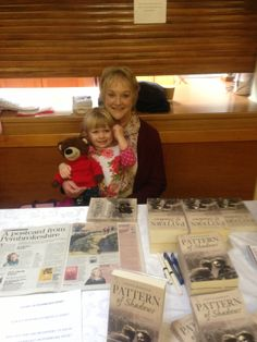 Help at a booksigning
