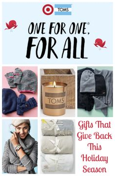 @gifts that give back this #holiday season @target @toms #toms #Christmas
