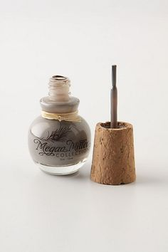 This is a nice looking nail polish bottle.  Megan Miller Nail Polish #anthropologie