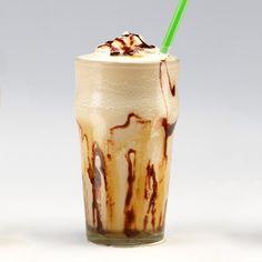 RumChata by Elvis 4 oz RumChata 1.5 oz Spiced rum .5 oz Banana liqueur 1 tsp Peanut butter Half a banana, peeled 1 scoop Vanilla ice cream (or a third of a cup ice) Garnish: Chocolate syrup Glass: Tall