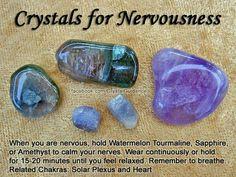 For nervousness