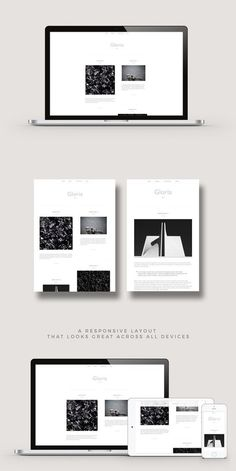 WordPress Minimal Theme Website Templates from ThemeForest Blog Design, Web Design Inspiration, Design Design, Graphic Design, Minimal Web Design, Minimal Theme, Photography Themes, Wordpress Website Design, Responsive Layout