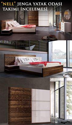 Nell Mobilya tarafından tasarlanan Jenga Yatak Odası tasarımını sizler için inceledik.