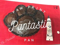 So this weekend was my cousins 30th birthday- and they just happen to be in town! Which made it a PERFECT time to try our Pantastic ® Pans! He likes dogs (and so do I) so I wanted to try our paw pr…
