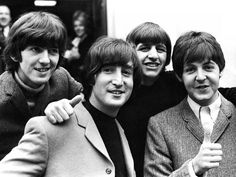 The Beatles were an English rock band formed in Liverpool in With members John Lennon, Paul McCartney, George Harrison and Ringo Starr, they became worldly famous. Ringo Starr, George Harrison, Paul Mccartney, John Lennon, We Will Rock You, All You Need Is Love, My Love, Liverpool, Pink Floyd