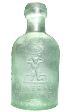A rare seltzer bottle from the Atlas Mineral Water Company, London, EC. I will need to get this cleaned. I was told this was recovered at the site of the Olympic Park, so quite topical I acquired it the day after 3 UK Track & Field golds! Antique Bottles, Vintage Bottles, Bottles And Jars, Water Bottles, Glass Bottles, Agua Mineral, Mineral Water, Sea Glass, Glass Art