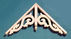 Simple decorative gable trim - 135 - GB822
