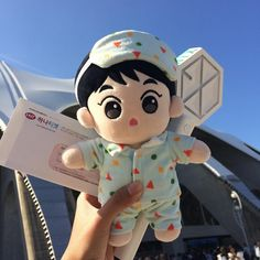 Pop Dolls, Baby Dolls, Cute Bunny Pictures, Exo Merch, Kawaii Plush, Kpop Exo, Chinese Boy, Plush Dolls, Plushies