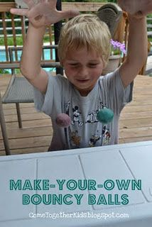 Make your own Bouncy Balls!