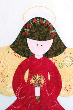 I just ADORE Erin Russek's applique.  She has so many free designs, loooove her!