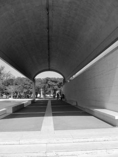 Louis Kahn's Kimbell Art Museum, Fort Worth, Texas, 1972.