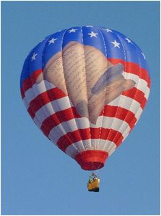 """Gulf Coast Hot Air Balloon Festival in 2012 - """"Freedom Flyer"""""""