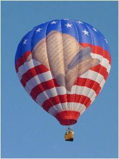 Gulf Coast Hot Air Balloon Festival 2012 - Freedom Flyer