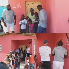 It doesn't get better than this.  Offseason changing so many lives in Haiti with @elvis.dumervil  @ravens ! Inspired by you #EKD92! #RavensCommunity #Ravens