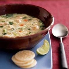 Asian Chicken Noodle Soup | MyRecipes.com