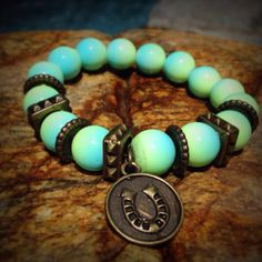 Lucky Bracelet from The Earth Collection by FeelingCharmed on Etsy, $20.00