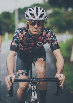 floral #hipster #cycling #kit #blacksheep